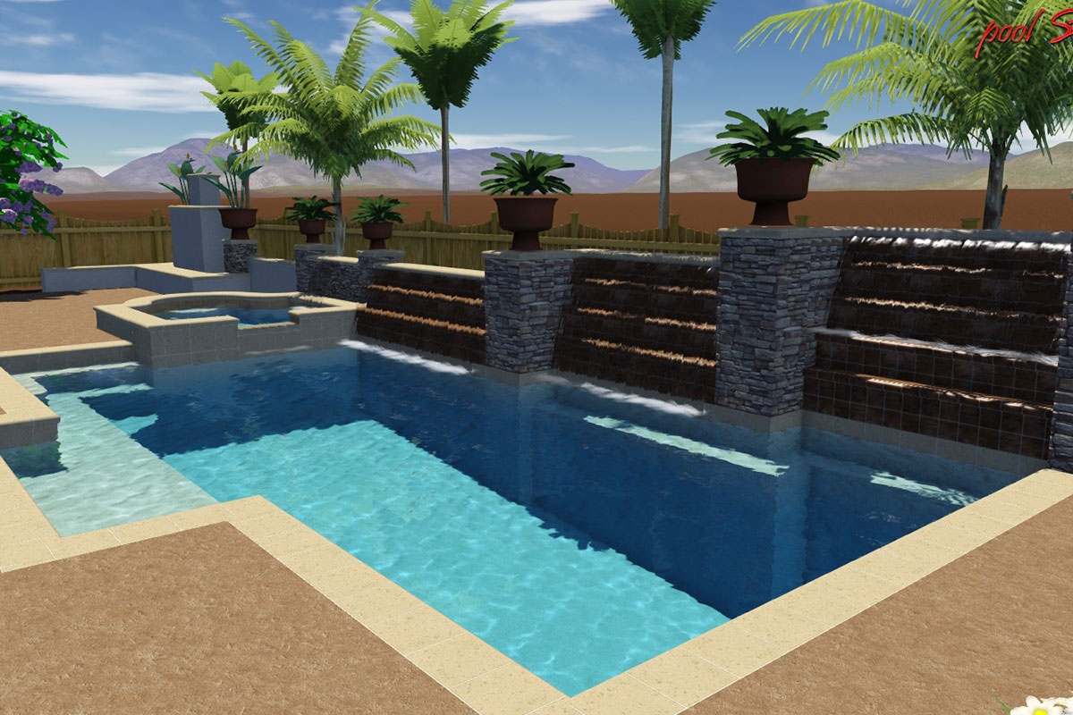 Pool And Landscape Development Custom Swimming Pools